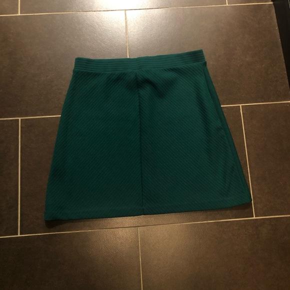 Emerald H&M skirt